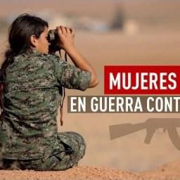 Mulheres kurdas empunham armas contra Estado Islâmico