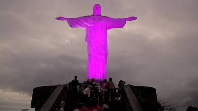 O cristo cor-de-rosa