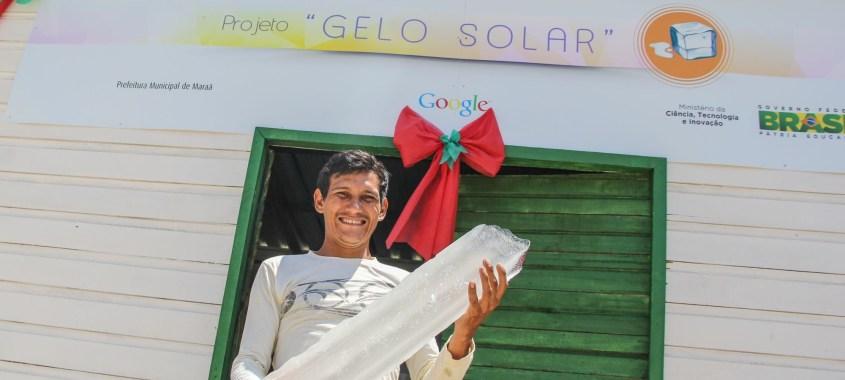 Gelo de energia solar leva desenvolvimento para a Amazônia