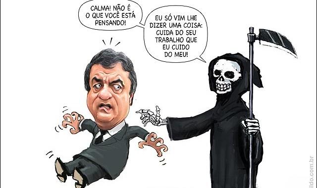 O ministro da Justiça e sua organização secreta