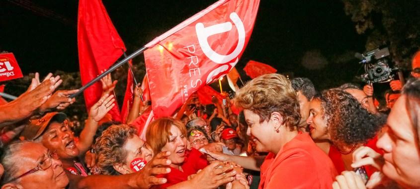 Presidenta Dilma reúne-se com deputados para avaliar marcha do golpe