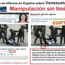 A guerra suja da mídia contra a Venezuela