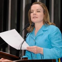 Senadora Gleisi Hoffmann (PT-PR) denuncia sabotagem dos golpistas ao Mercosul