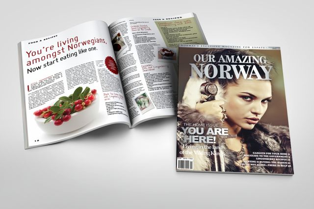 Our Amazing Norway Cover and Lingonberry Article