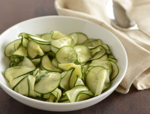 Sweet-and-Sour Cucumber Salad