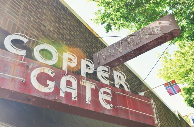 Copper Gate Neon