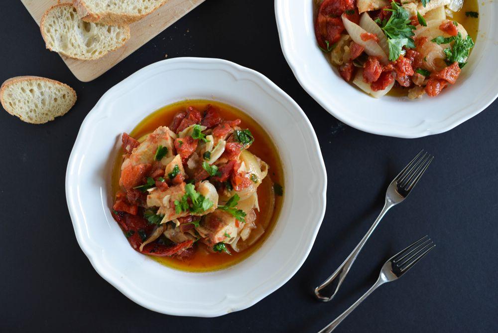 Norwegian Bacalao Stew