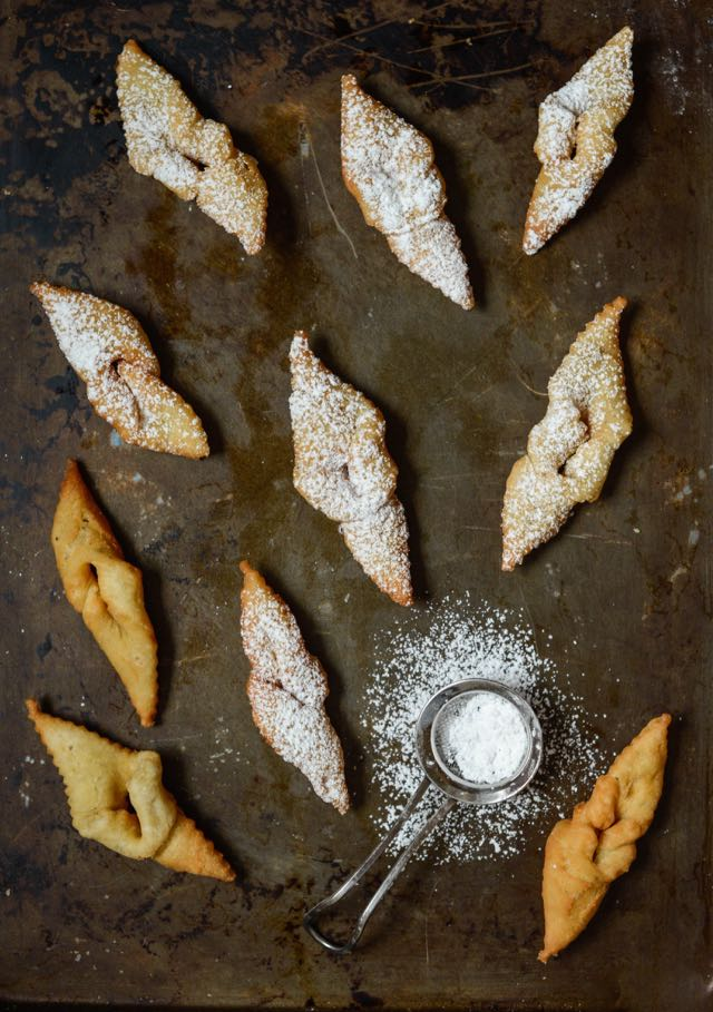 Cardamom-Scented Fattigmann Cookies: Traditional Norwegian Christmas Cookies. Recipe by Norwegian-American Food Writer Daytona Strong.