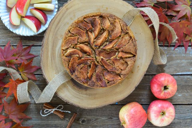 Norwegian Apple Cake with Autumn Spices (Gluten-, Dairy-, and Egg-Free) - a Recipe from Outside Oslo, a Scandinavian Food Blog