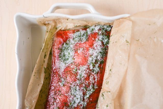 Cured Salmon Gravlax with Dill - Recipe from Food Writer Daytona Strong