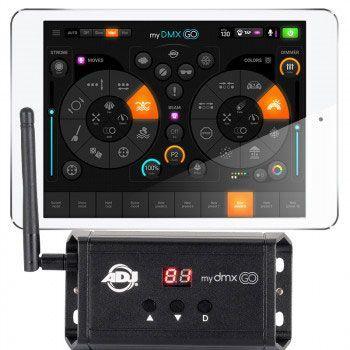 control dmx de iluminación led con app
