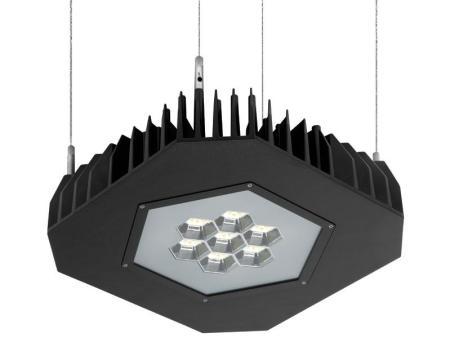 Lámpara LED suspendida Grafias