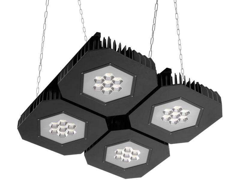 Lámpara LED industrial suspendida