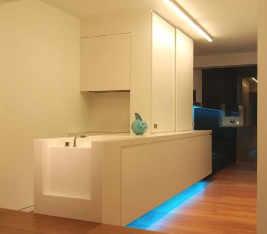 Iluminacion interior led cocinas