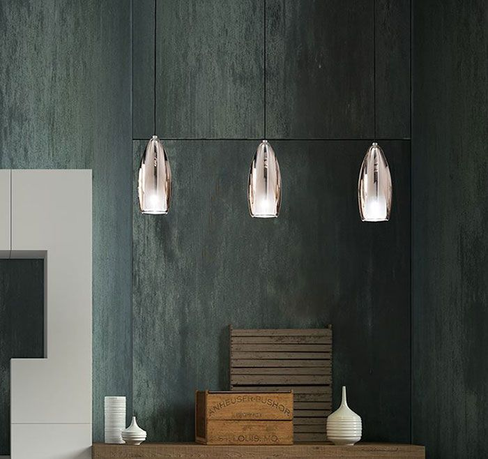 Lámparas de techo de vidrio