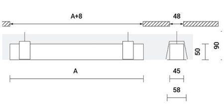 Perfil led lineal