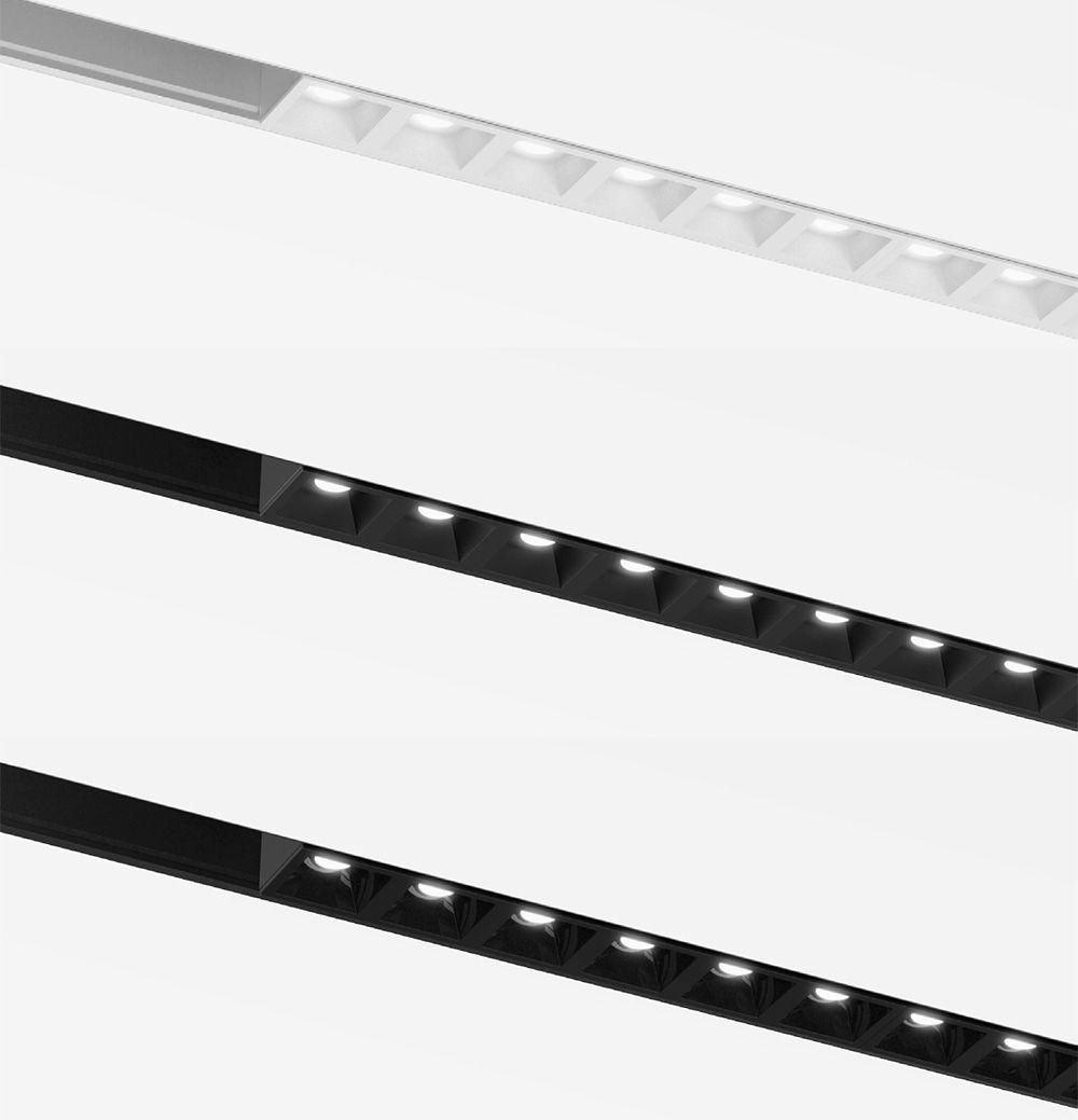 Luminaria de carril magnetico model in louvre
