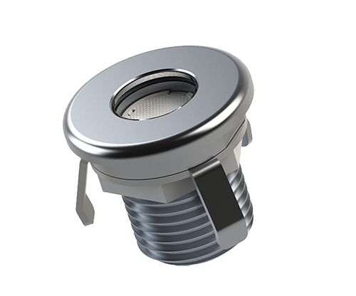 Mini foco LED empotrado exterior para tarima Niviss Ground Nano