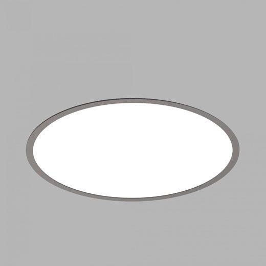panel led circular empotrado