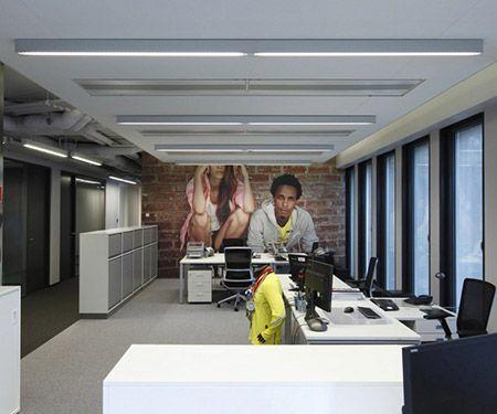 Proyecto de iluminación de oficinas