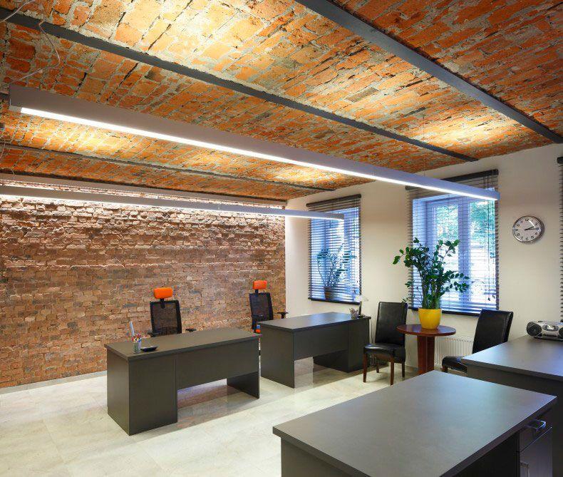 Proyectos de iluminación de oficinas