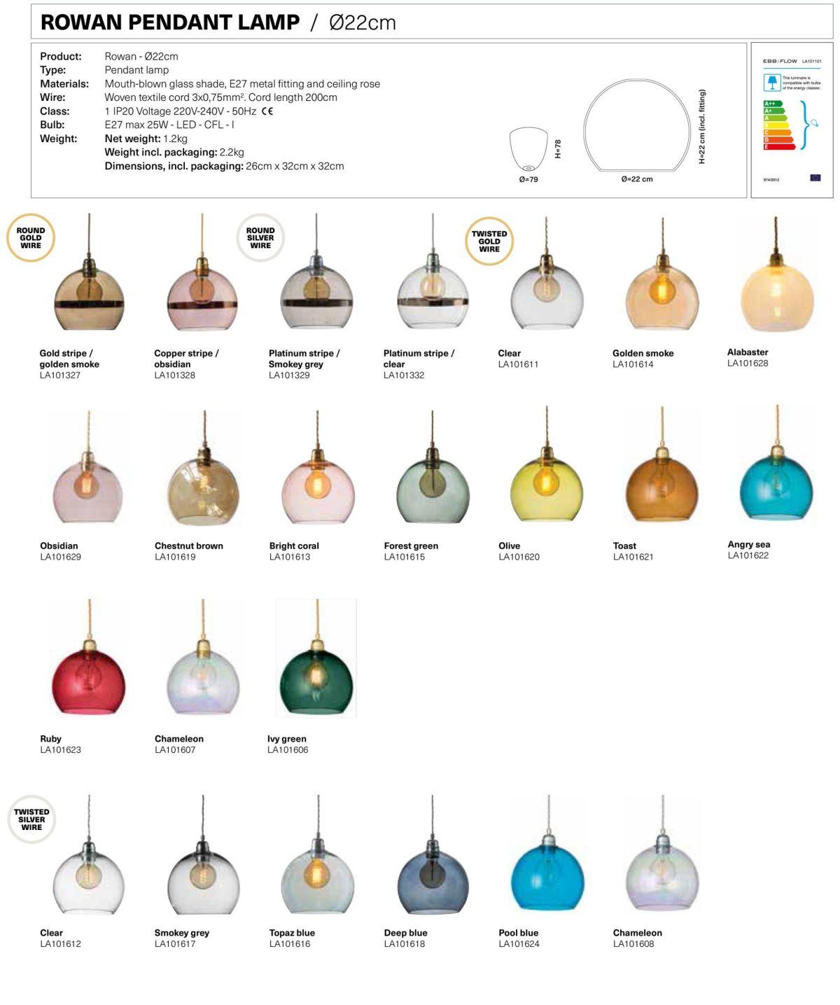Lámpara suspensión