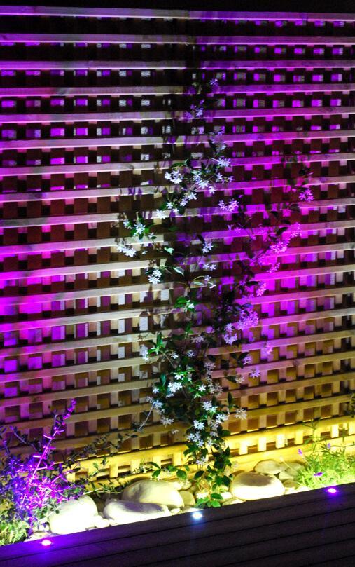 Iluminación led RGBW