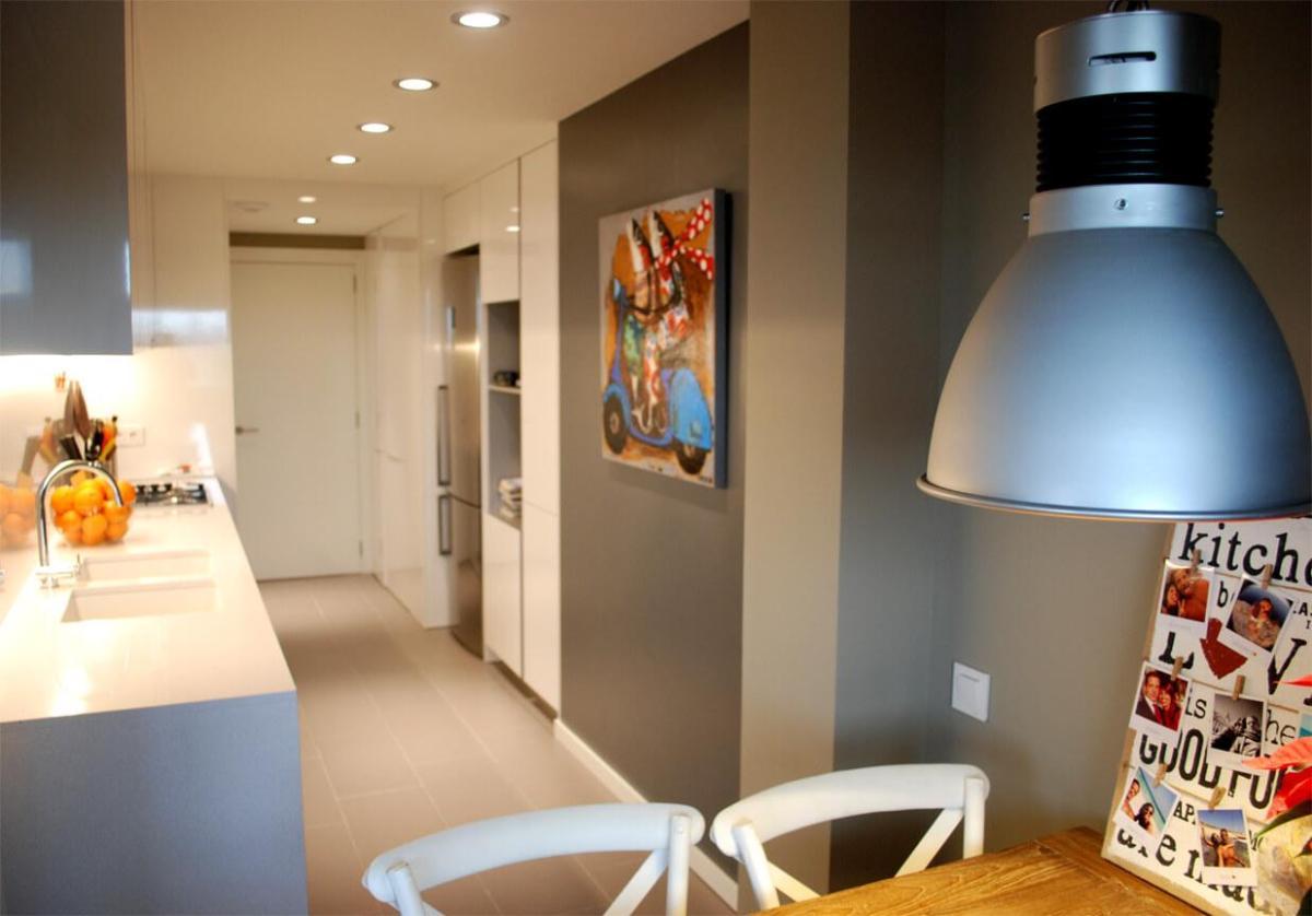 Iluminación de interiores oara cocinas