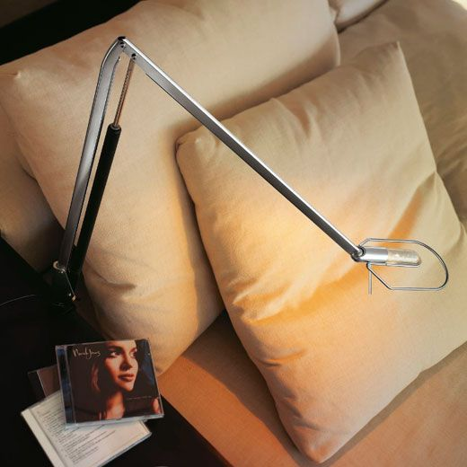 lámpara de lectura articulada