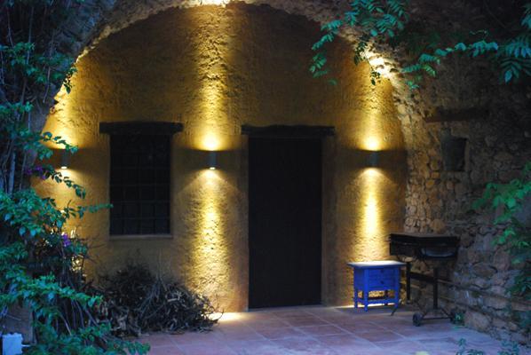 Luces de jardín, Iluminación exterior