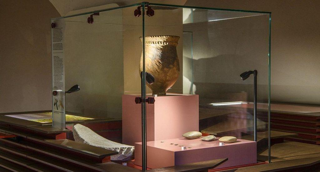 iluminación para museos y exposiciones
