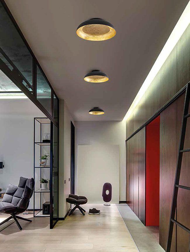 lámpara con iluminación indirecta