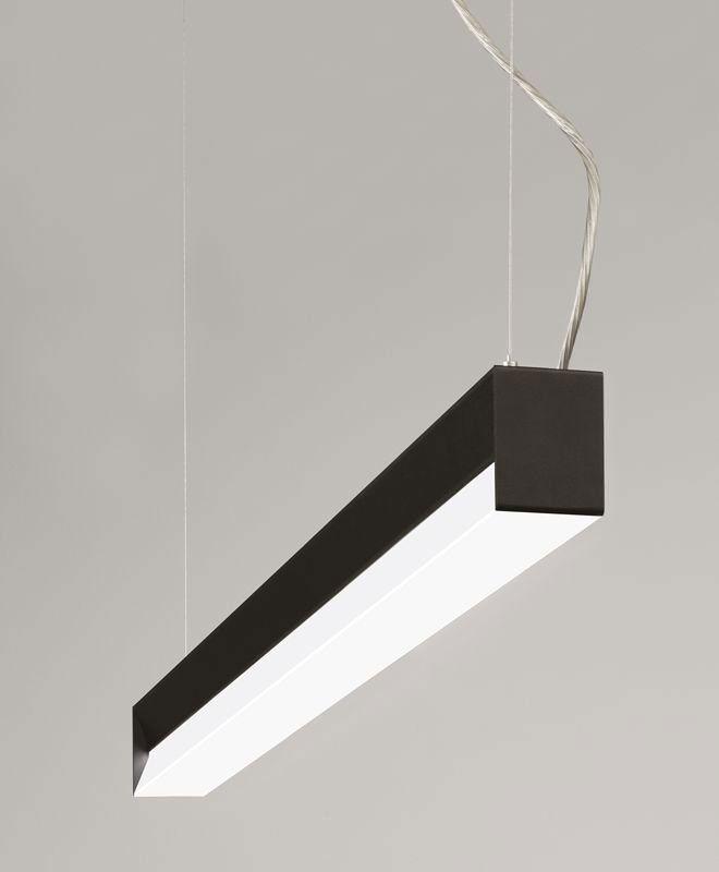 Luminaria lineal blanco dinámico iluminación indirecta