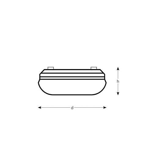 plafón de superficie