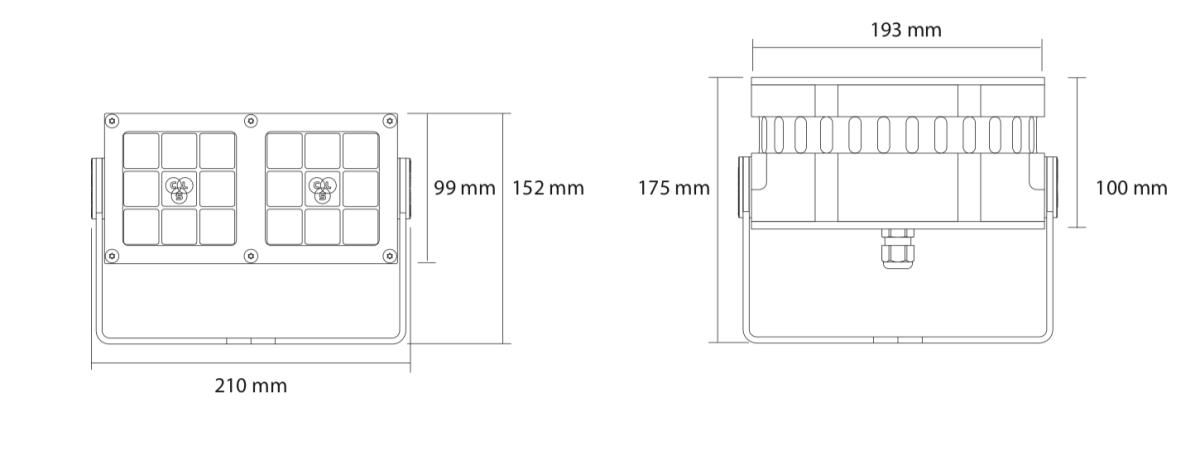 Medidas revo xl configuracion horizontal