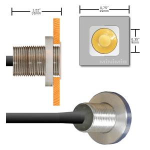 Medidas Mini-spot led estanco