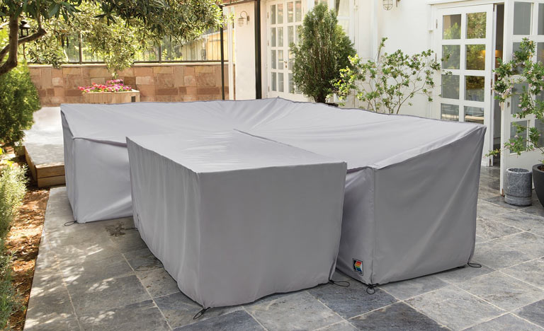 cover metal garden furniture to extend