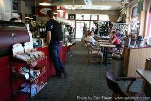 Grass Valley Coffee Shop, Carolines Coffee Roasters