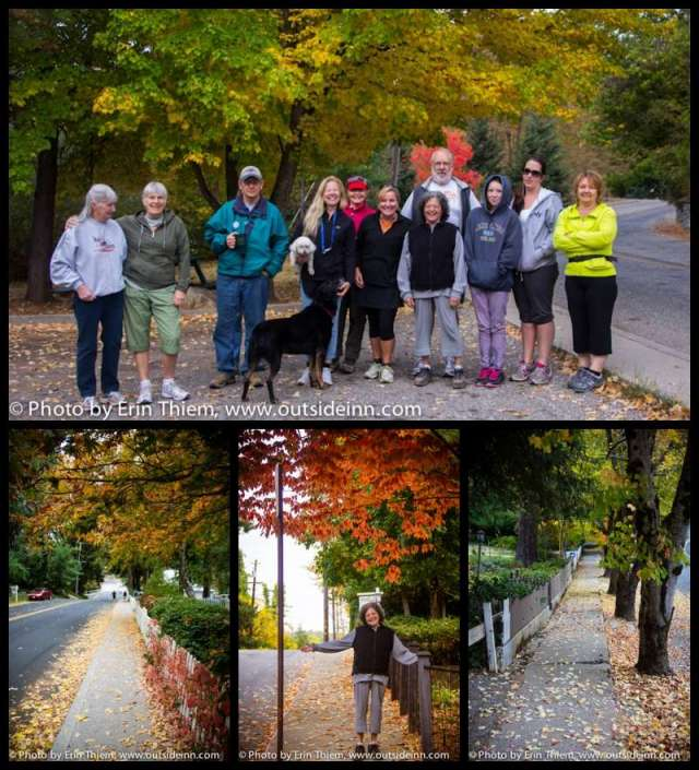 Nevada City fall colors walk