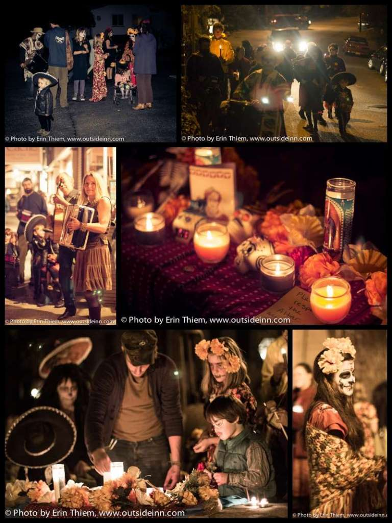 Nevada City honors Day of the Dead Procession
