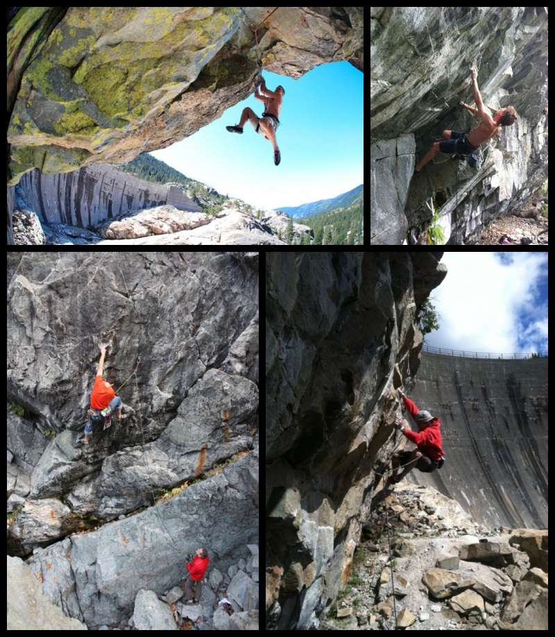 Rock Climbing outside of Nevada City