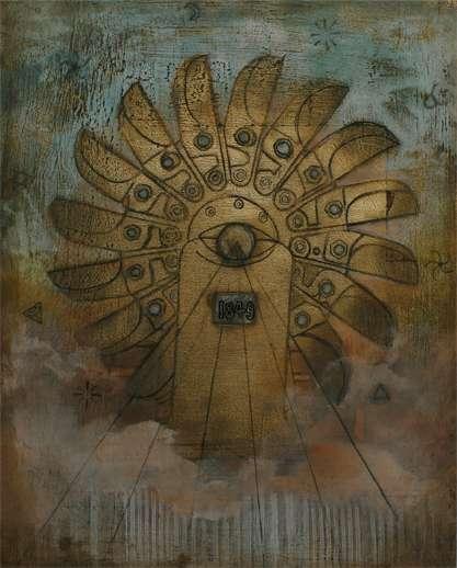 I Heart NC Art Show, Pelton Wheel