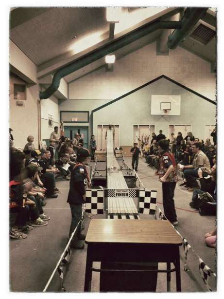Nevada City Cub Scouts Pinewood Derby