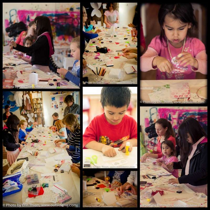 The Artist Workshop Kid Art Classes
