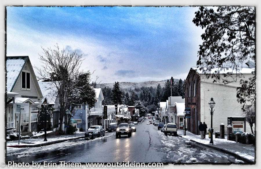 Downtown Nevada City, photo by Erin Thiem, Outside Inn
