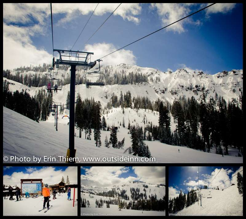 Lake Tahoe's Sugar Bowl Ski Resort