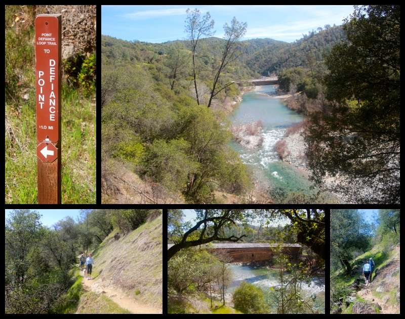 South Yuba River Lake Englebright Hiking