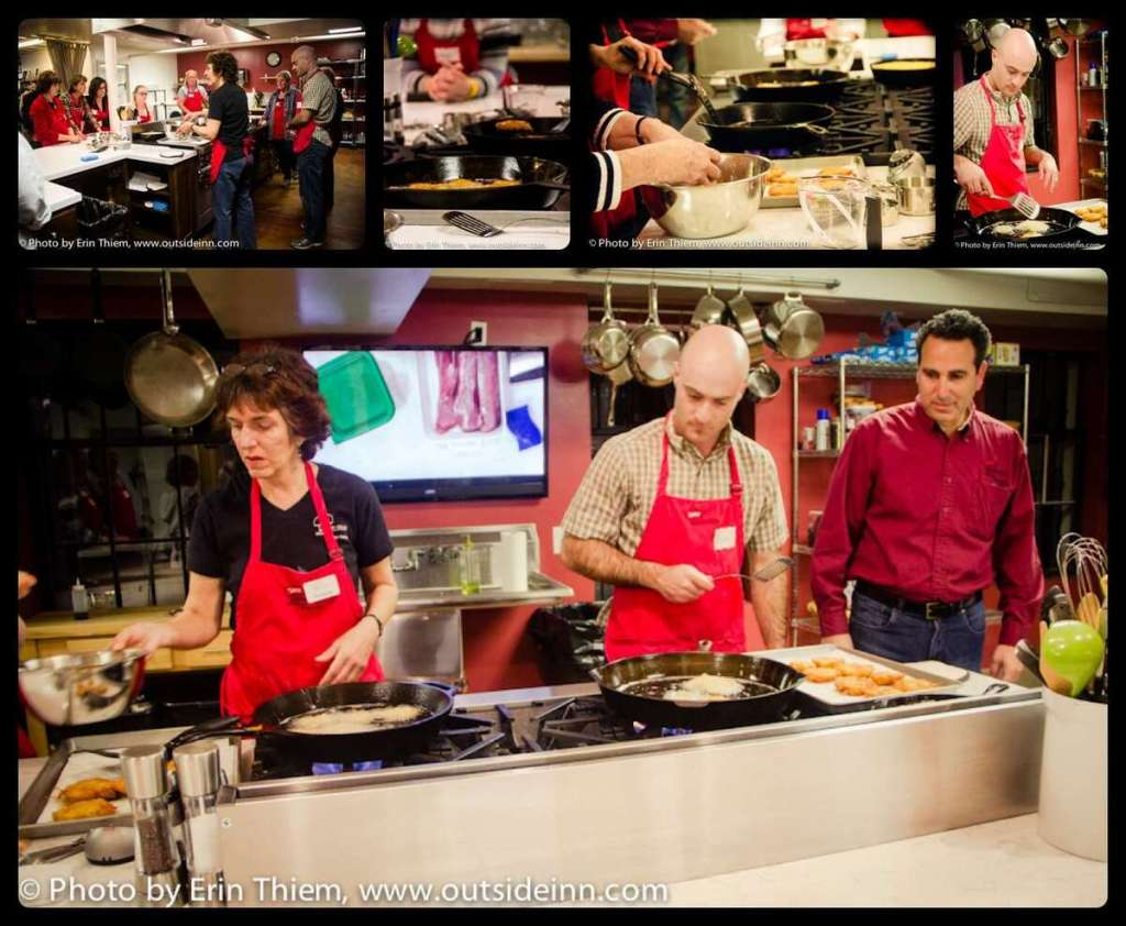 Cast Iron Cooking Class, Tess' Kitchen, Grass Valley