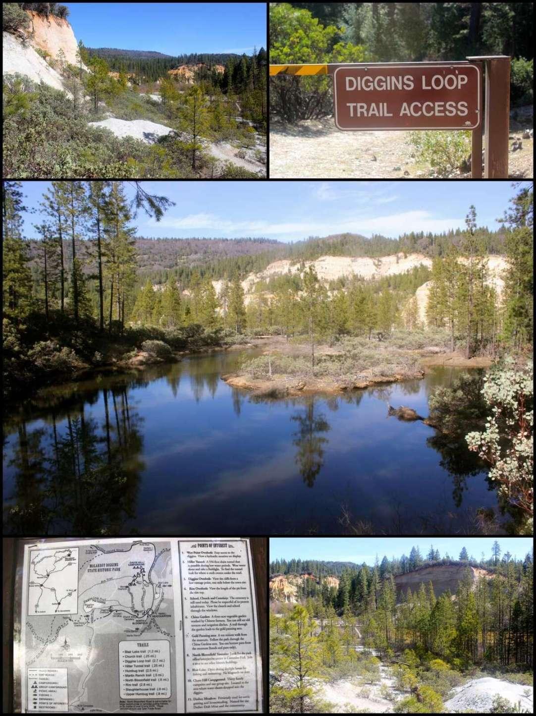 Nevada City Gold Mining Malakoff Diggins Loop Trail