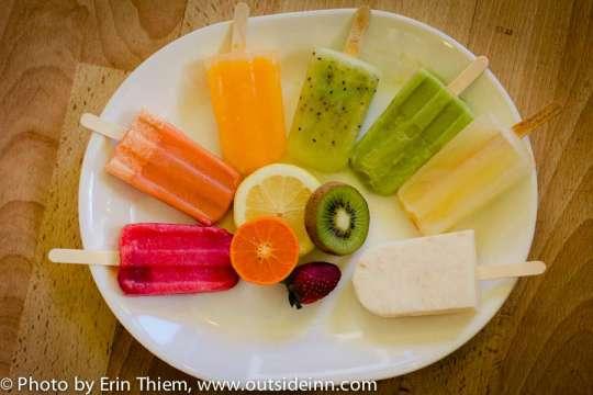 Fresh Fruit frozen bars, Treatsicles, Nevada City